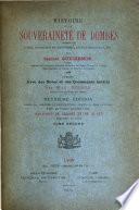Histoire de la souveraineté de Dombes