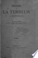 Histoire de la terreur à Bordeaux