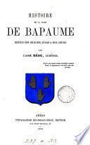 Histoire de la ville de Bapaume