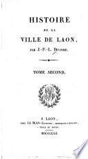 Histoire de la Ville de Laon