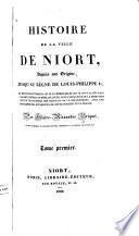 Histoire de la ville de Niort