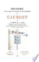 Histoire de la ville, du château et des seigneurs de Caumont