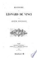 Histoire de Léonard de Vinci par Arsène Houssaye