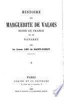 Histoire de Marguerite de Valois, reine de France et de Navarre