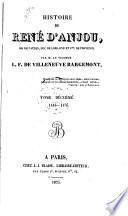 Histoire de René d'Anjou