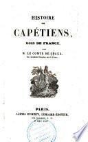Histoire des Capétiens