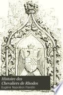 Histoire des Chevaliers de Rhodes