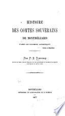Histoire des comtes souverains de Montbéliard