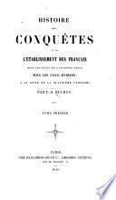 Histoire des conquêtes et de l'établissement des Français dans les états de l'ancienne Grèce sous les Ville-Hardoin