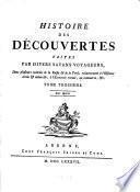 Histoire des découvertes faites par divers savans voyageurs dans plusieurs contrées de la Russie & de la Perse relativement à l'histoire civile & naturelle ...