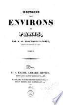 Histoire des environs de Paris