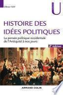 Histoire des idées politiques - 2e éd.