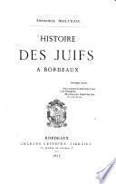 Histoire des Juifs à Bordeaux