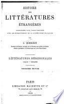 Histoire des littératures étrangères considérées dan leurs rapports avec le developpement de la littérature française