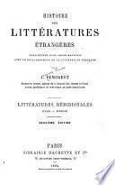Histoire des littératures étrangères considérées dans leurs rapports avee le développement de la littérature frana̧ise