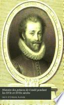 Histoire des princes de Condé pendant les XVIe et XVIIe siècles: Louis de Bourbon, I. prince de Condé, 1530-1568