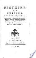 Histoire des suisses