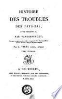 Histoire des troubles des Pays-Bas, sous Philippe II