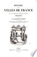 Histoire des villes de France