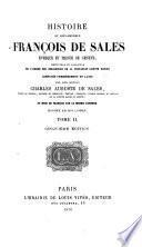 Histoire du bien-heureux François de Sales