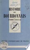 Histoire du Bourbonnais