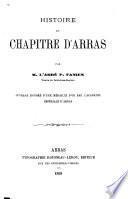Histoire du chapitre d'Arras