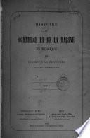 Histoire du commerce et de la marine en Belgique