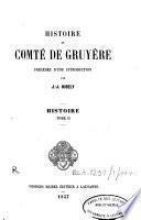 Histoire du Comté de Gruyère