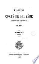 Histoire du Comte de Gruyere