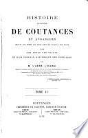 Histoire du diocèse de Coutances et Avranches depuis les temps les plus reculés jusqu'à nos jours
