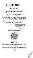 Histoire du duché de Normandie