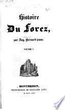 Histoire du Forez