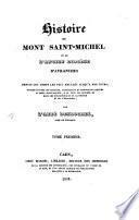 Histoire du Mont Saint-Michel et de l'ancien diocèse d'Avranches
