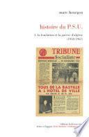Histoire du P.S.U.