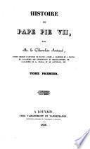 Histoire du Pape Pius VII.