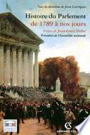 Histoire du Parlement
