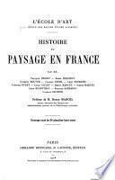 Histoire du paysage en France