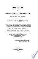 Histoire du Prieuré de Saint-Damien, établi sur les ruines de l'ancien Tauroentum