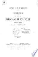 Histoire du règne de Ferdinand et d'Isabelle W. H. Prescott