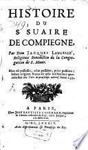 Histoire du S. Suaire de Compiegne,