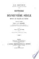 Histoire du XIXe siècle, depuis les traités de Vienne