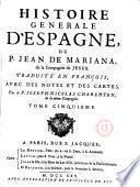 Histoire generale d ́Espagne