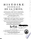 Histoire générale de la Chine