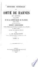 Histoire générale du comté de Harnes en Artois, jusquà̓ 1789