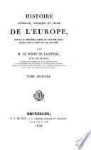Histoire générale, physique et civile de l'Europe