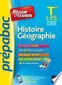 Histoire-Géographie Tle L, ES - Prépabac Réussir l'examen