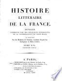 Histoire littéraire de la France: XIIIe siècle