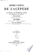 Histoire naturelle de Lacépède, comprenant les cétacées, les quadrupèdes ovipares, les serpents et les poissons