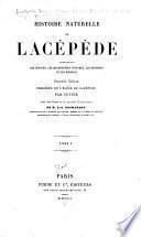 Histoire naturelle de Lacépède
