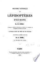 Histoire naturelle des lépidoptères d'Europe
